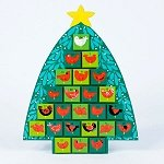 Red Birds Advent Calendar