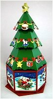 3 D Advent Tree