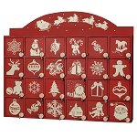 Red White Advent Calendar