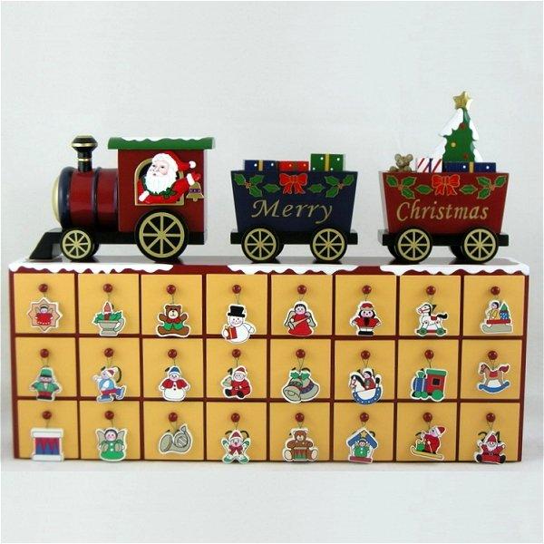 Santas Train Advent Calendar